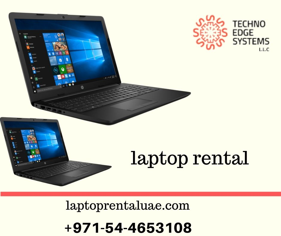 laptop rental | dubai laptop rental - Techno Edge