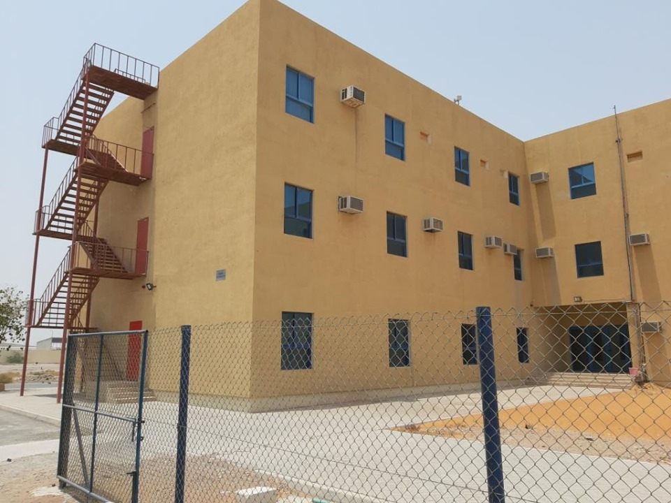 For SALE LABOR CAMP WITH WAREHOUSE SHED in Al Jazira Al Hamra Freezone - RAK;
