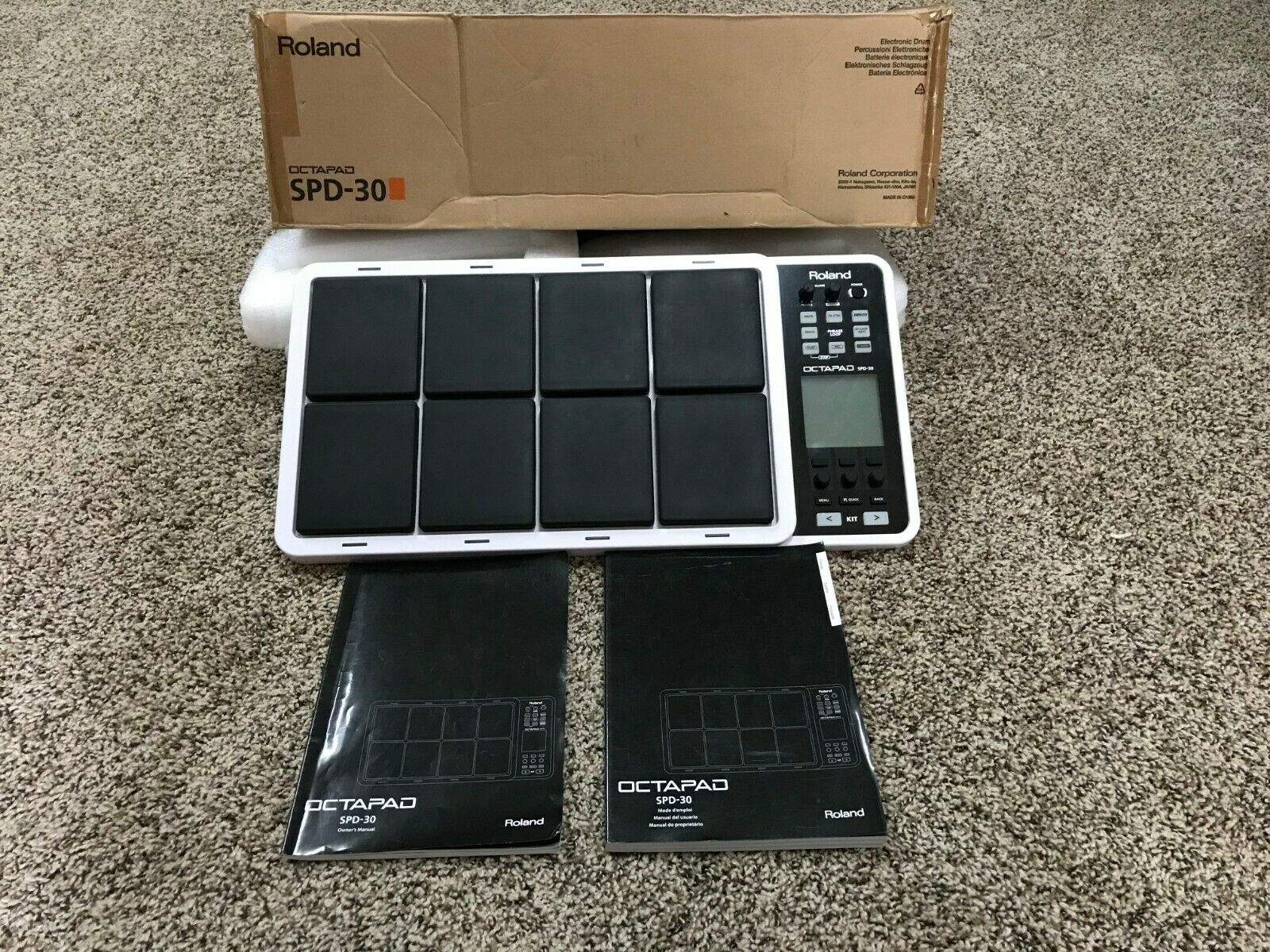 Roland SPD30 Octapad Total Percussion Pad