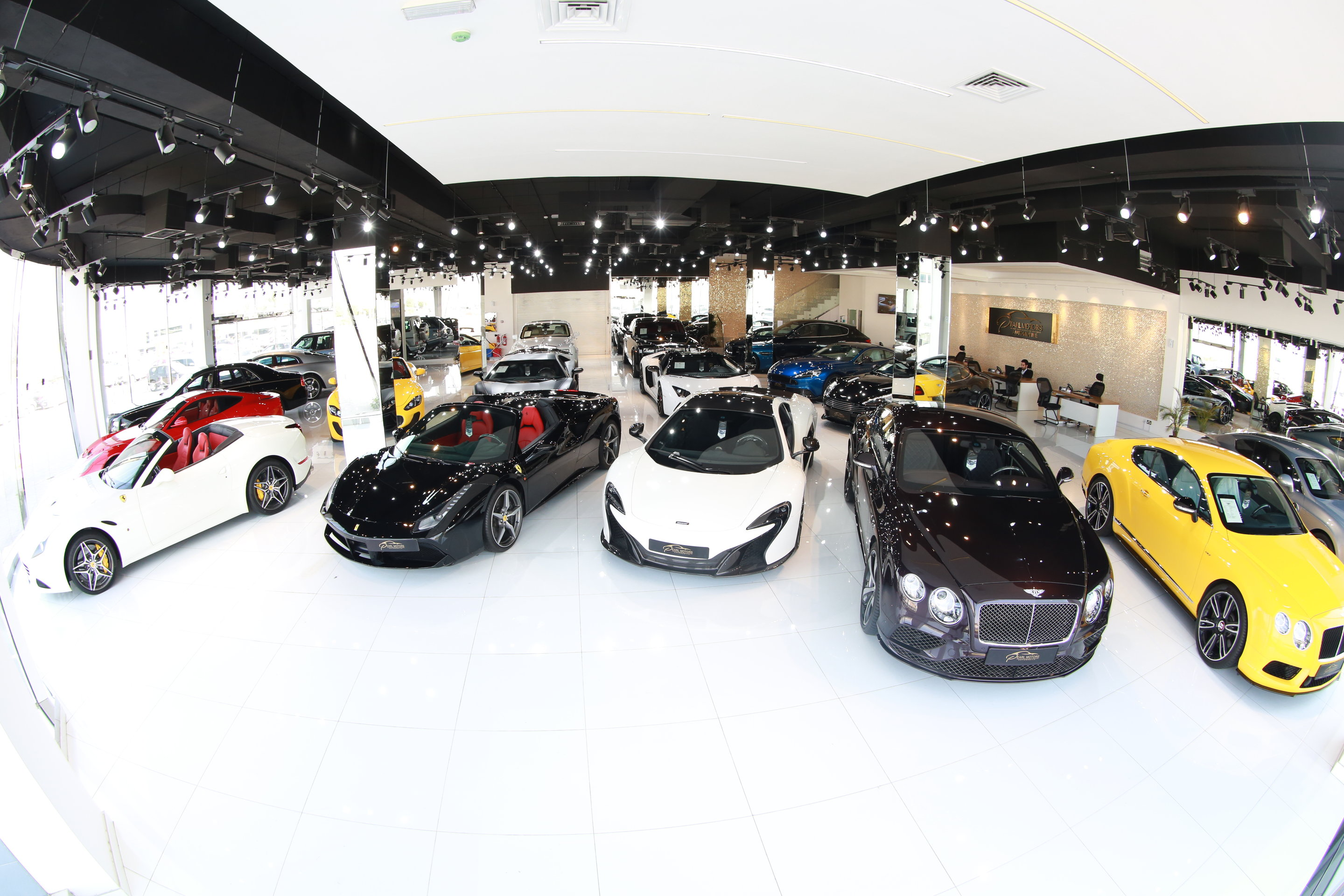 New and Exotic Luxury Cars – Pearl Motors